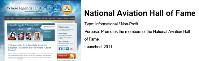 National Aviation Hall of Fame – Social Media