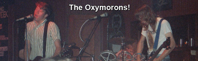 The Oxymorons – Dayton Indie Rock (89-94)