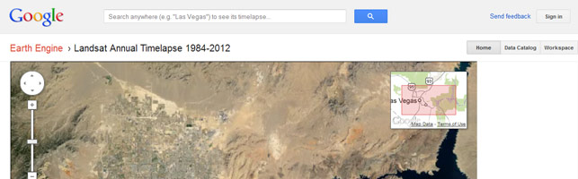 Google's Timelapse Mapping Project