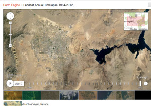 Las Vegas 2012 - Google's Timelapse Mapping Project