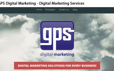GPS Digital Marketing Website