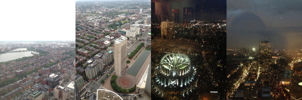Views of Boston from 50 Stories Up