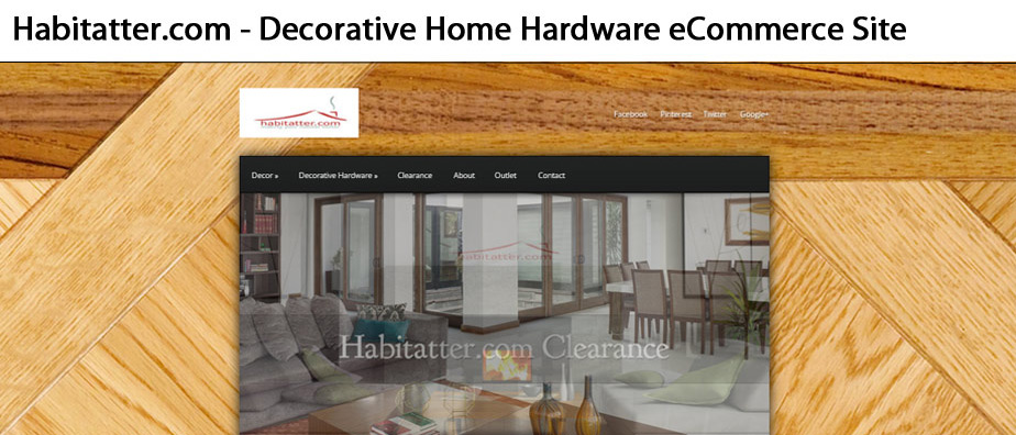 Habitatter.com - Decorative Home Hardware & Decor