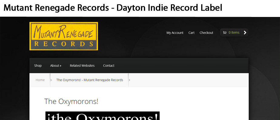 Mutant Renegade Records - Dayton-based Indie Lable