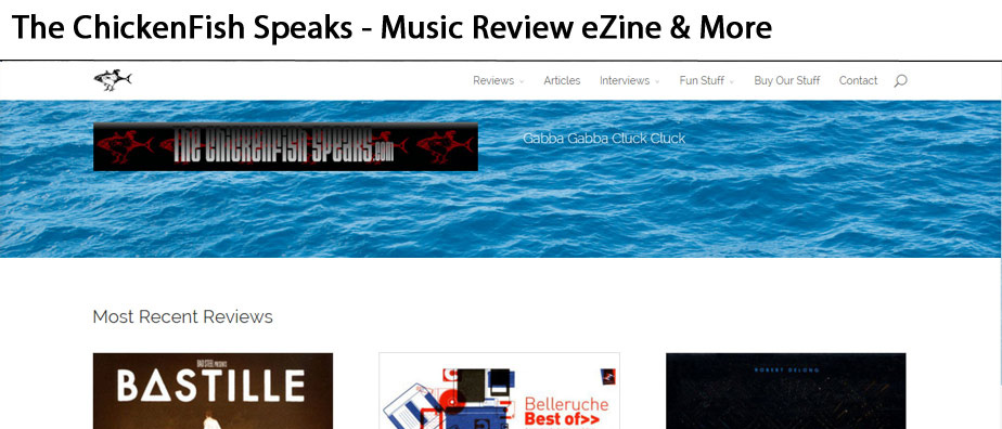 The ChickenFish Speaks - Music Reviews, Articles & Fun